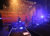 Sound checking at the Shoalhaven Entertainment Centre in Nowra