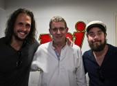 Radio interview at 93.5 NRJ