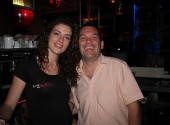 Bar staff at The Club