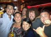 A few drinks post gig... and we bumped into Sonny Bill Williams!