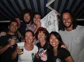 All the crew from GBNC, sponsors of the festival