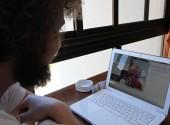 A little morning Skype session