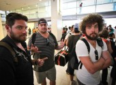 Delays and mild chaos in the Noumea airport